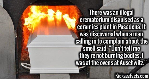 1824 Illegal Crematorium
