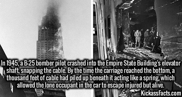 1895 B-25 Empire State Building crash