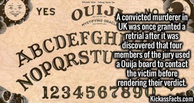 1925 Ouija Board Jury