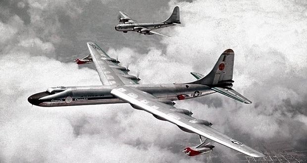 3 - Nuclear-powered bombers