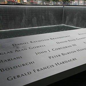 9-11 memorial names