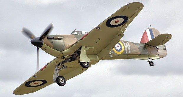 10. Hawker Hurricane - 14,533