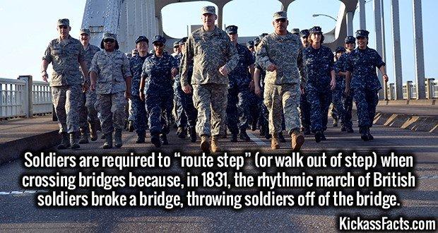 1931 Soldiers Route Step Bridge