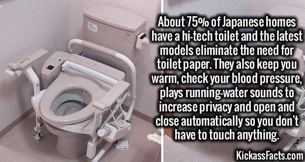 1936 Japanese Hi-Tech Toilets