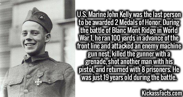 1953 US Marine John J. Kelly
