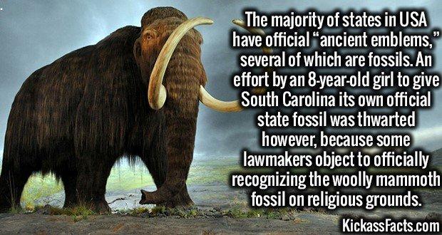 1957 Mammoth Emblem
