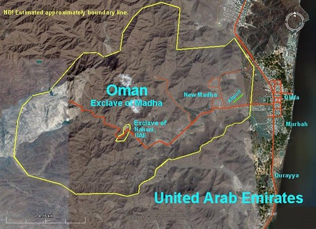 Oman & The United Arab Emirates - Enclaveception