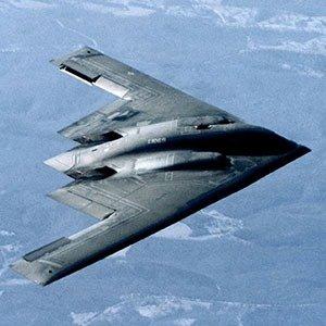 US stealth bomber