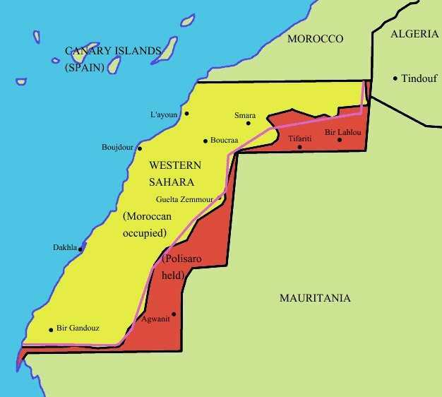 Western Sahara - The Birthplace Of Desert Guerilla Warfare