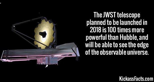 2107 JWST telescope