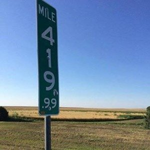 419.99 Road Sign