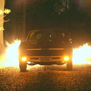 Car flame thrower