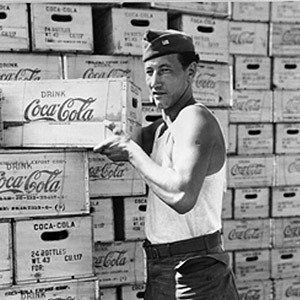 Coca Cola WW2 Cooling