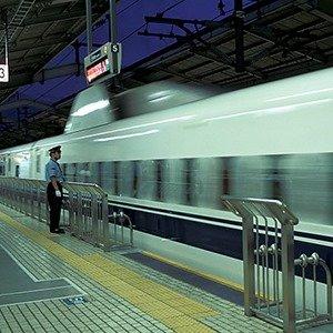 Japanese trains Punctual