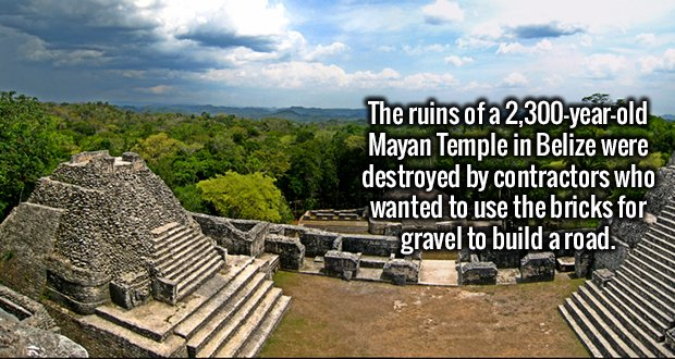 2234 Mayan Temple Belize