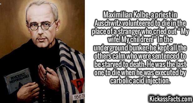 2564 Maximilian Kolbe