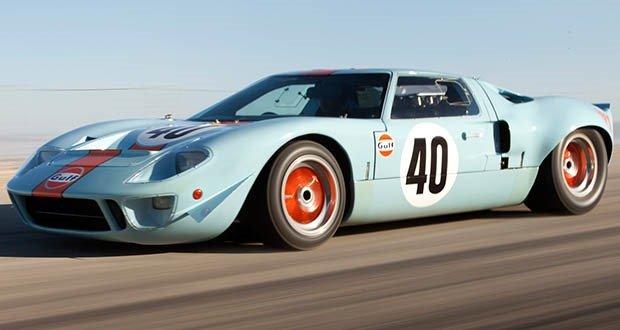 03. 1968 Ford GT40 Gulf - Mirage Lightweight Racer
