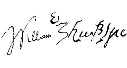 05. Signature of William Shakespeare
