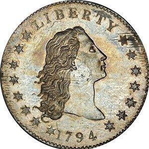 08. United States 1794 Silver Dollar
