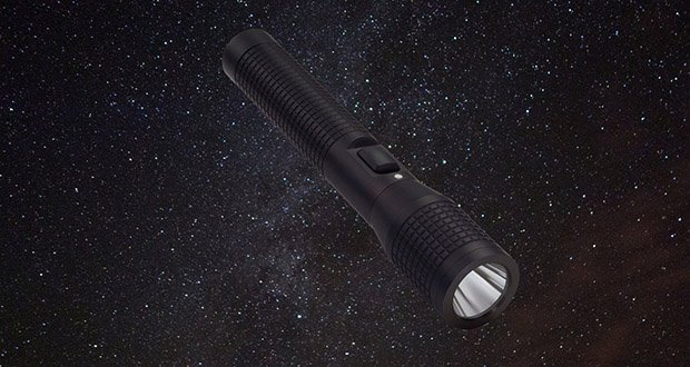 Flash Light in space