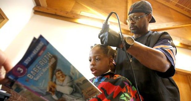 02. Free Haircuts for Reading Book
