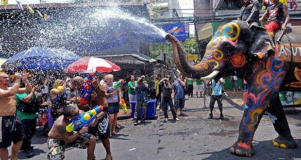 02. Songkran Water Festival