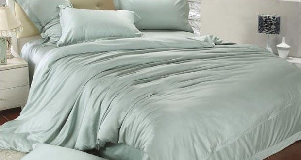 02. Use a king size comforter on a queen size bed
