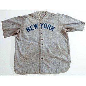 03. 1920 Babe Ruth Game-Worn Jersey