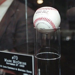 03. Mark McGwire's 70th Home Run Ball, 1998