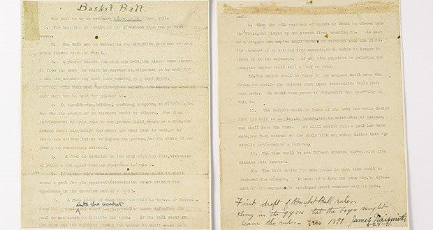 04. James Naismith's Original Rules of Basketball