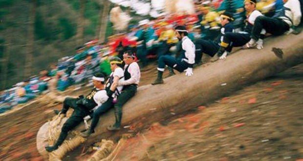 08. Onbashira Festival