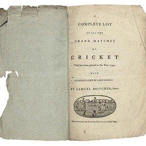 09. Samuel Britcher Scorecards