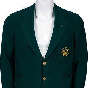 10. Bobby Jones's 1937 Green Jacket
