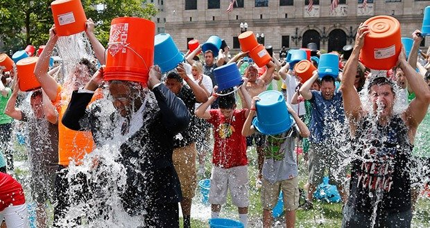 10. Scientists say money raised from ALS Ice Bucket Challenge helped find a treatment