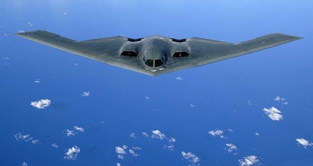 12. B-2 Spirit Stealth Bomber
