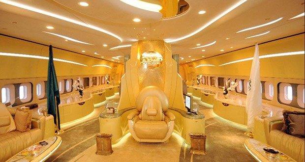 13. Prince Al-Waleed bin Talal's Airbus A380