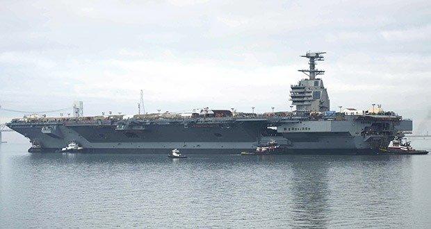 15. CVN-78 Class Aircraft Carrier