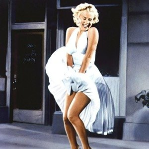 """21. Marilyn's Monroe's White Dress, """"The Seven Year Itch"""""""