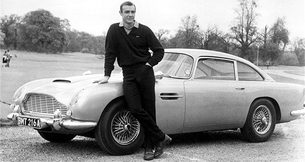 "22. Aston Martin DB5, ""Goldfinger"" and ""Thunderball"""