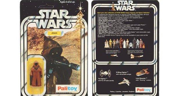 23. 1980 Jawa Figure with Vinyl Cape