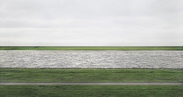 "28. ""Rhein II"", Andreas Gursky"