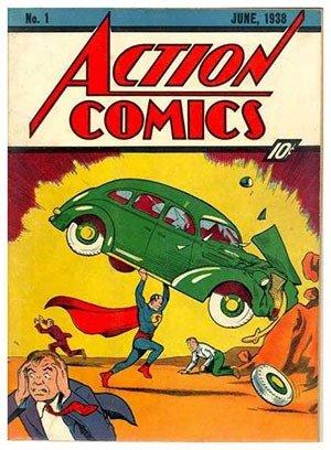 42. Action Comics #1