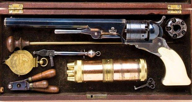 44. 1836 Colt Paterson Revolver
