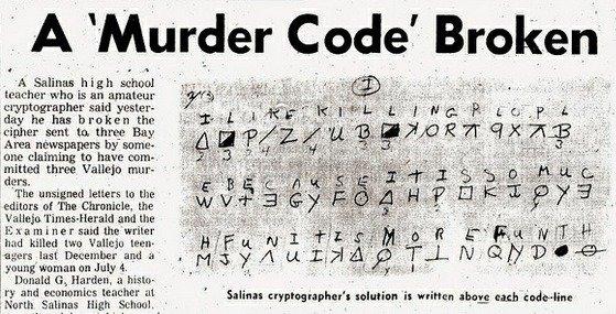 Zodiac Killer 6