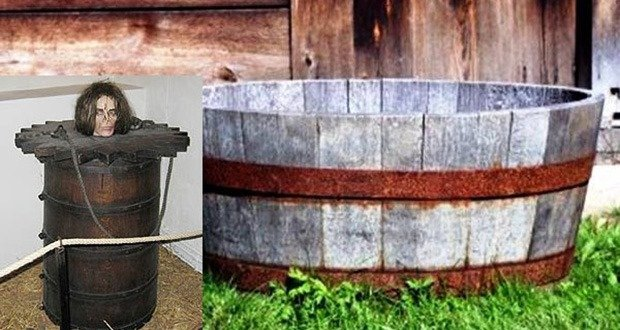 02. Barrel Pillory, or the Spanish Mantle Worse version Scaphism