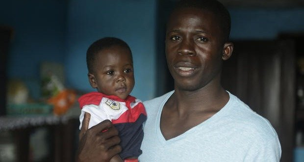 04. Young nurse adopts newborn after newborn's mom dies of Ebola