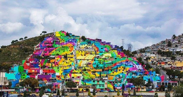 08. Mexico Asked Graffiti Artists To Paint An Entire Town