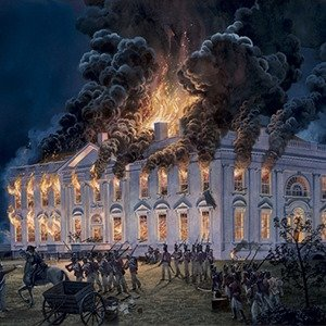 1814 White House Fire