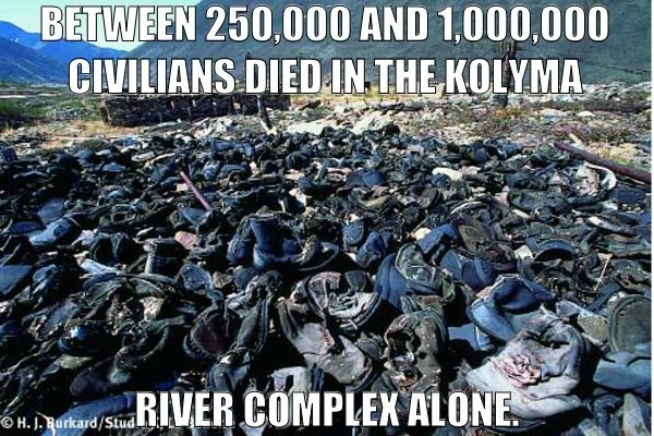 Kolyma River Valley Camps