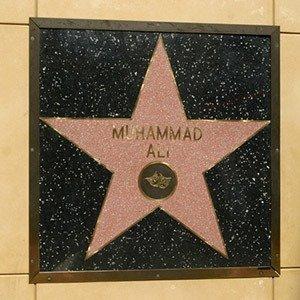 Muhammad Ali's star